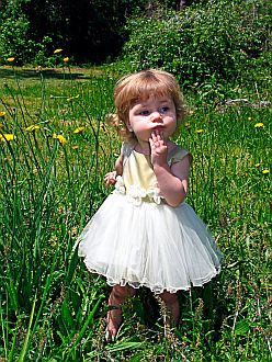 Decisions Quotes - Little Girl in Field Looking Pensive