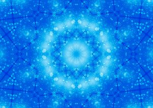 Psychic Training - Celestial Blue Mandala
